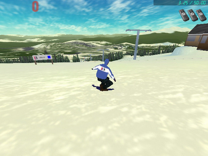 Сноуборд 3d